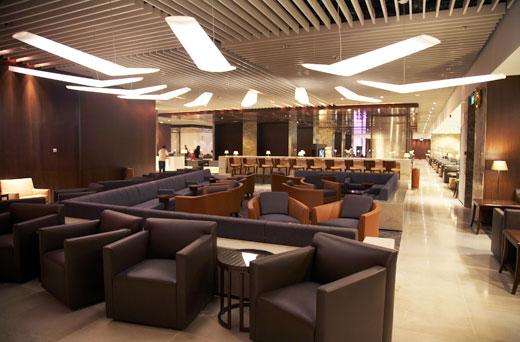 il vip lounge dell 39 aeroporto di changi a bordo dell 39 a380