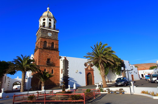 La iglesia de Nuestra Señora de Guadalupe en Teguise