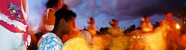 Festival en tierras mauricianas