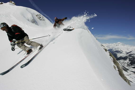 Espace Killy, un paraíso para el esquí