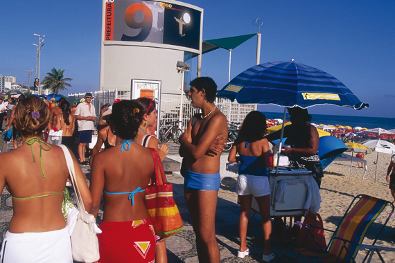 La plage d'Ipanema