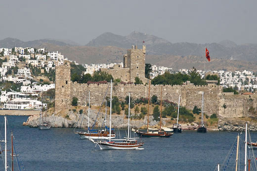 Bodrum Castle and the Museum of Underwater Archaeology