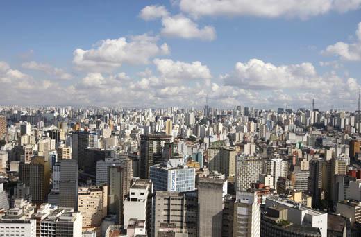 Sao Paulo, desde las cimas