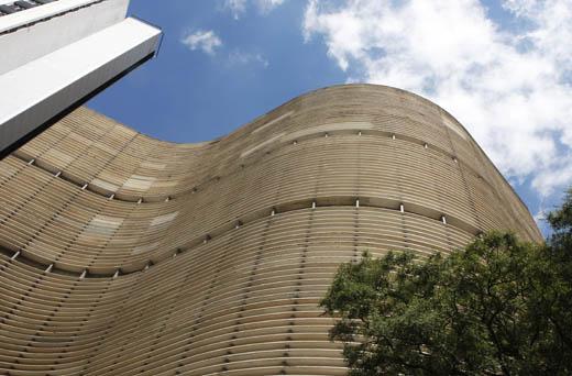 L'immeuble Copan, signé Niemeyer