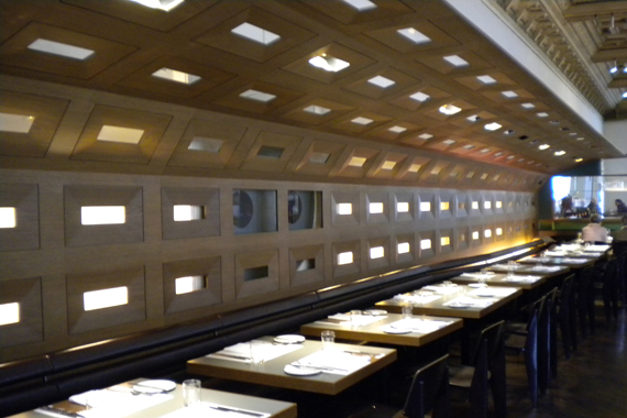 Des restaurants au menu moderne vienne ville design for Restaurant moderne