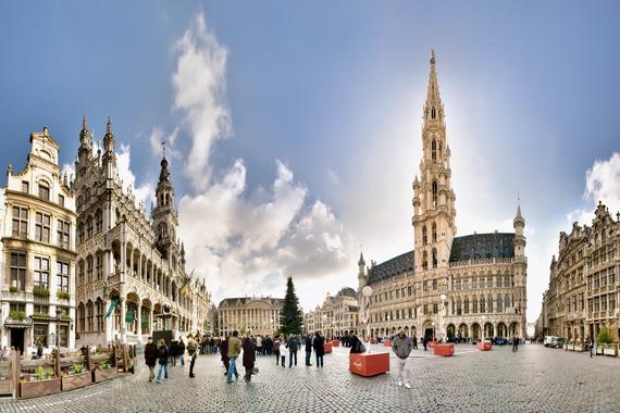 Bruselas y su mercado navideño europeo