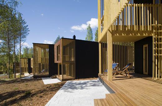 Manoir, cabane ou villa design