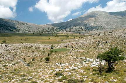 La Creta salvaje, cuna de Zeus