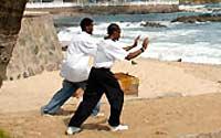Salvador, cuna de la capoeira