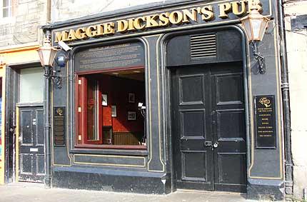 Maggie Dickson's pub