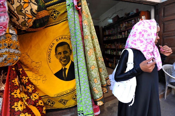 Der Kanga - Die Kleidung der Frauen auf Sansibar