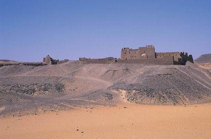 El monasterio de San Simeón.