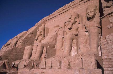 El yacimiento de Abu Simbel.