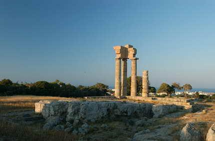 El Coloso de Rodas, una de las siete maravillas del mundo