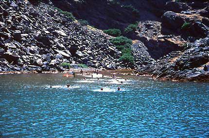L'îlot de Nea Kaméni