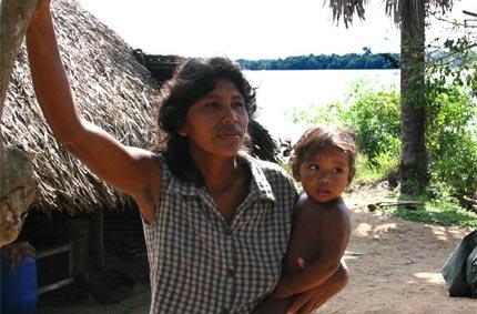 Bingiso, village amérindien