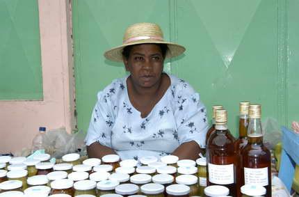 Honig und Achards, Bio-Produkte aus Rodrigues