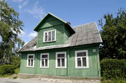 Immersioni nell 39 art nouveau della lettonia porte aperte for Case in legno lettonia
