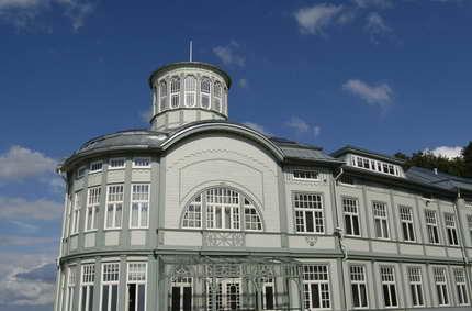 Art Nouveau baths in Latvia.