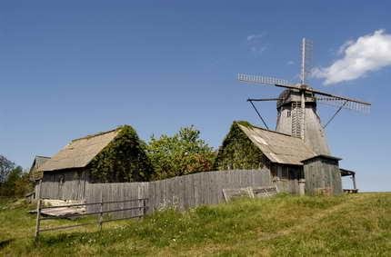 Saaremaa, the mill island