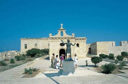 Le fort Saint-Angelo