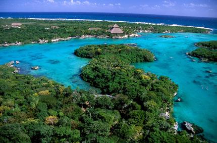Xel-Ha, el universo maya