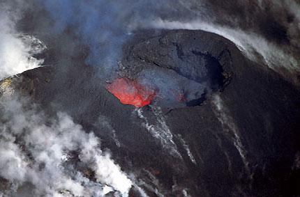 Un volcan, ça se mérite