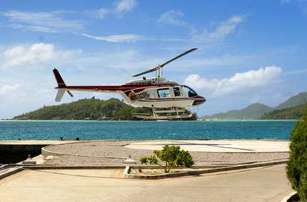 Sensations fortes en  hélicoptère