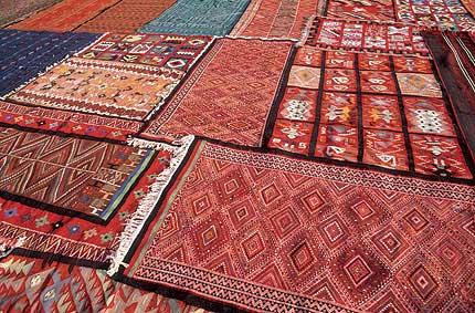 Las alfombras de Kairuán
