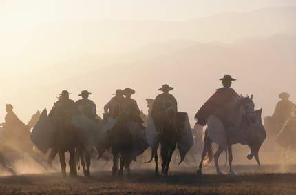 The Gaucho parade