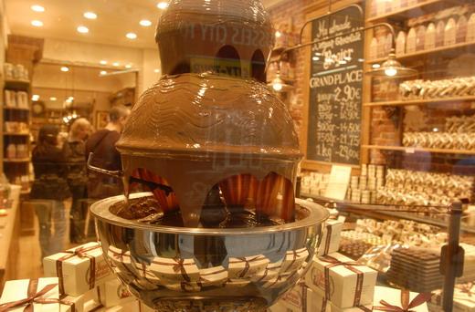 Die beste Schokolade Brüssels - Chocolatier Pierre Marcolini