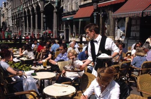 Open Air Dinner Brüssel - Essen im Freien