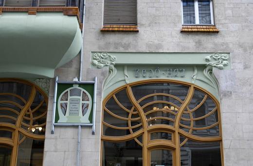 Bedö- Haz ou la maison de style Sécession