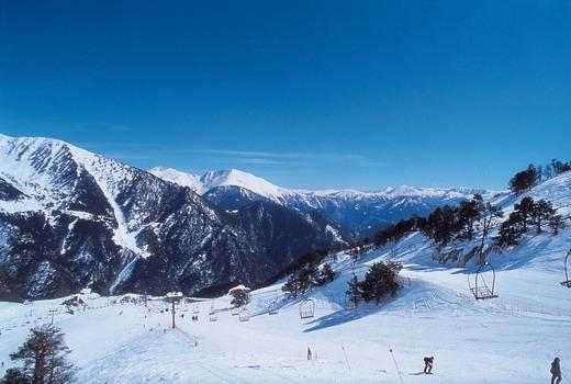 Andorre, pays de neige et de ski...
