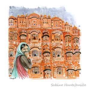 Le Palais Des Vents De Jaipur Rajasthan Inde