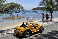 You can even take a buggy for a spin along the seafront promenade named after her, the Orla Bardot.
