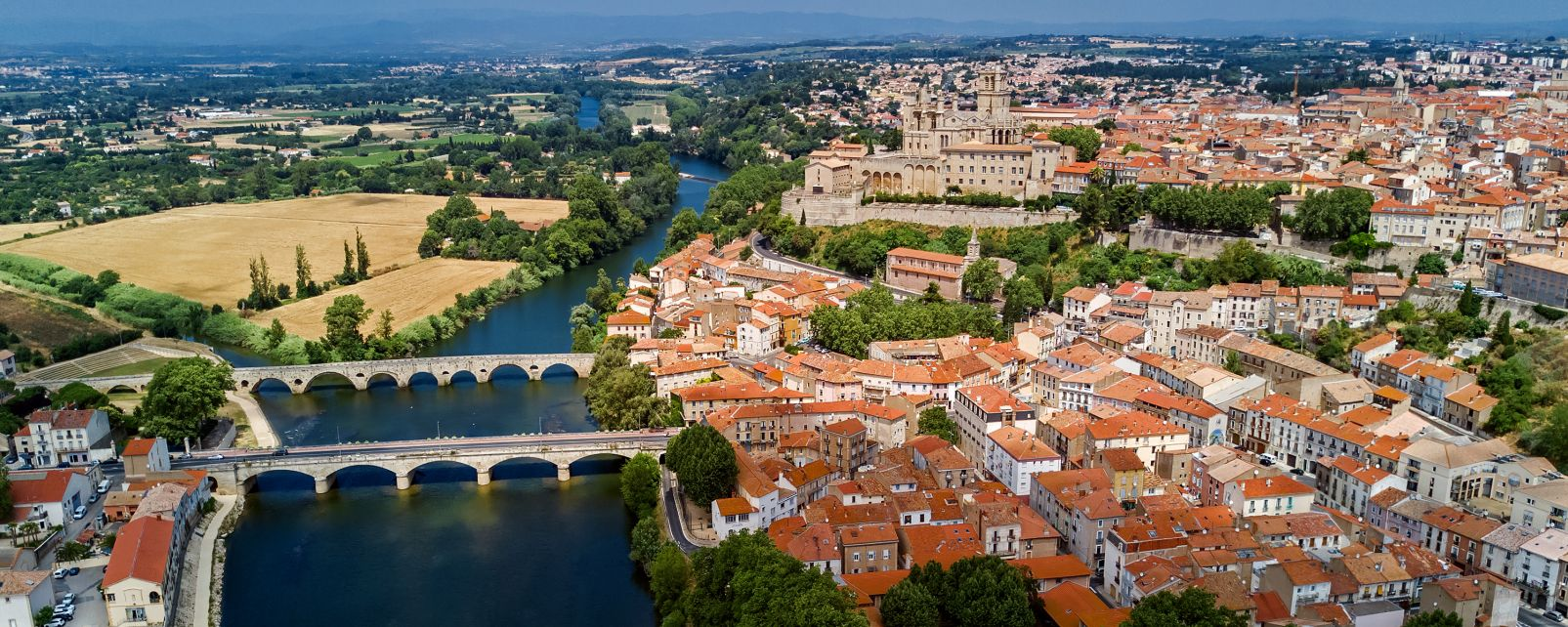 Béziers, Languedoc-Rosellon, Francia
