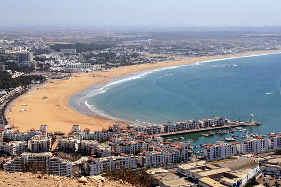 Agadir : Balades sur la plage - Maroc