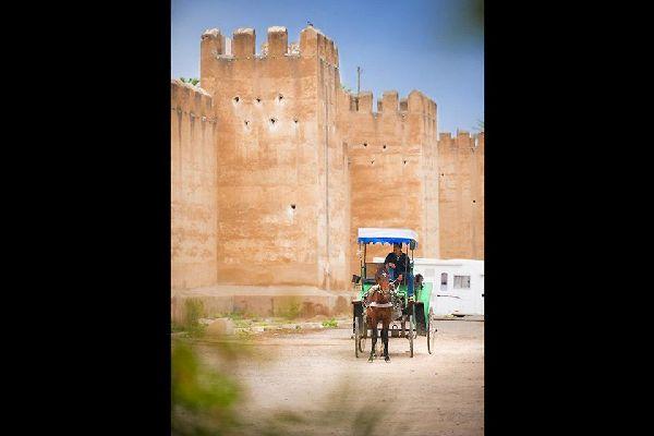 Découvrir la ville d'Agadir confortablement installé à l 'arriére d'une caléche
