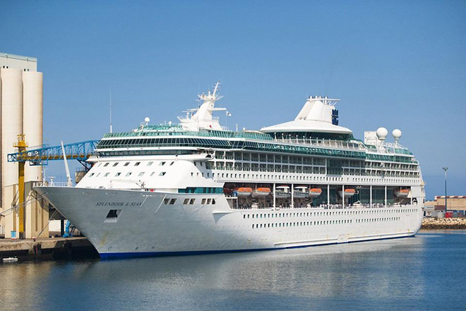 The port of Agadir welcomes cruise ship throughout the year