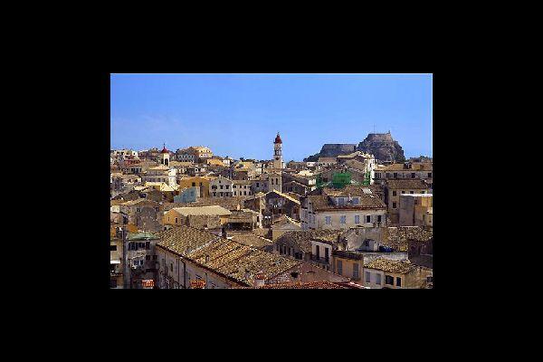 L'architecture de Corfou a gardé de nombreuses traces du passage des Vénitiens.