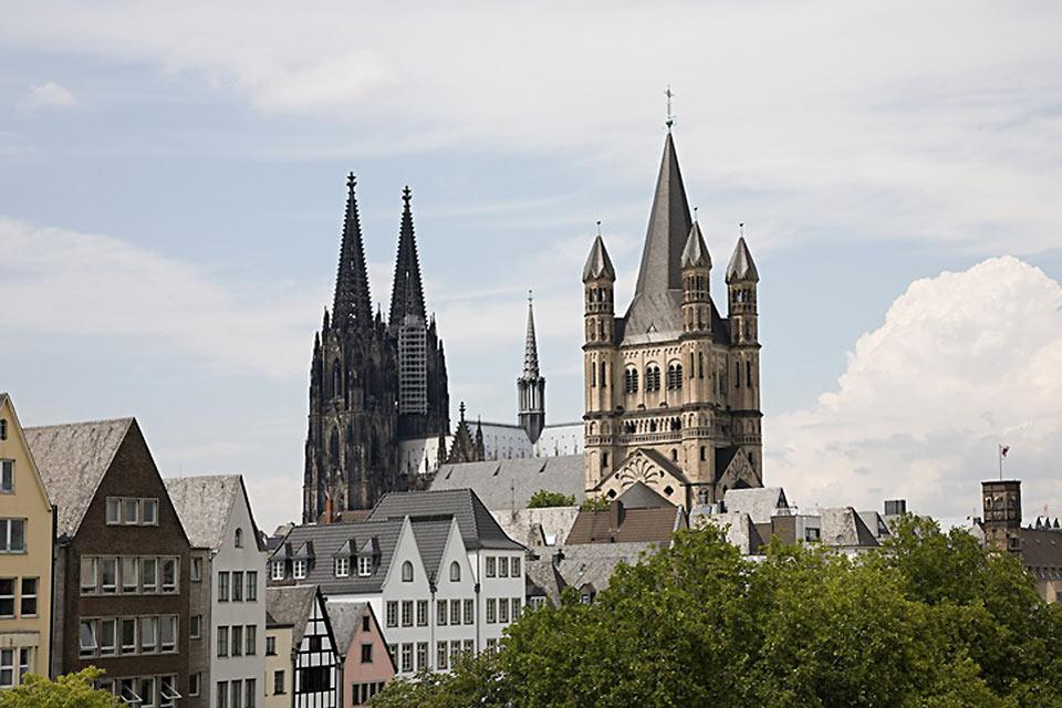 There are a great many churches to visit in Cologne.