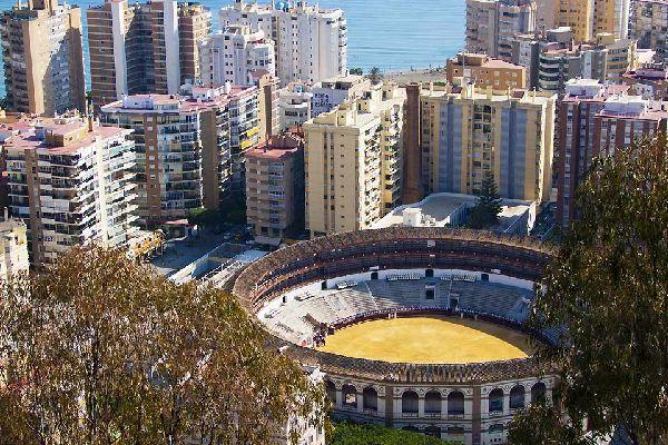 Quest'arena fu costruita nel 1874 da Joaquin Rucoba e si trova nel quartiere della Malagueta, da cui deriva il nome. Ha una capienza di 14.000 persone.
