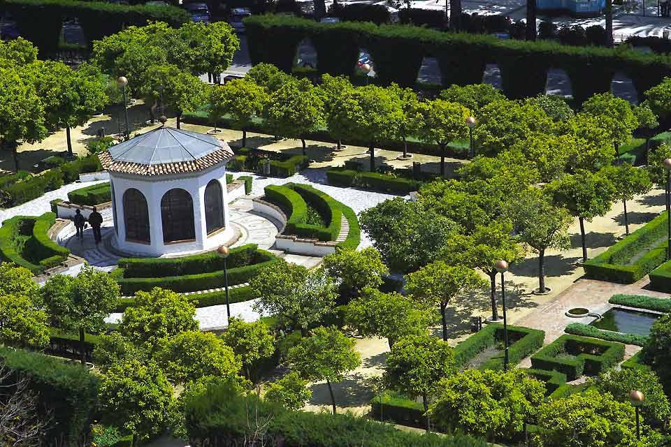 photo les jardins botaniques de la concepcion malaga
