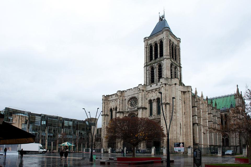 Saint-Denis, an unpolished northern suburb of Paris, is famous for its beautiful basilica.