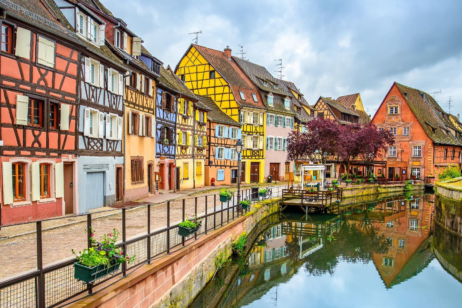 Europe; France; Alsace; Colmar;