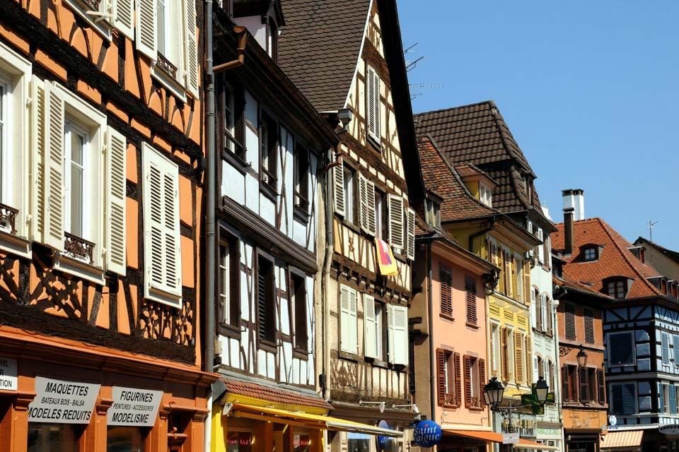 Europe; France; Alsace; Colmar;