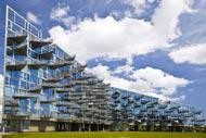 The architecture in Copenhagen alternates between the very modern and the traditional.