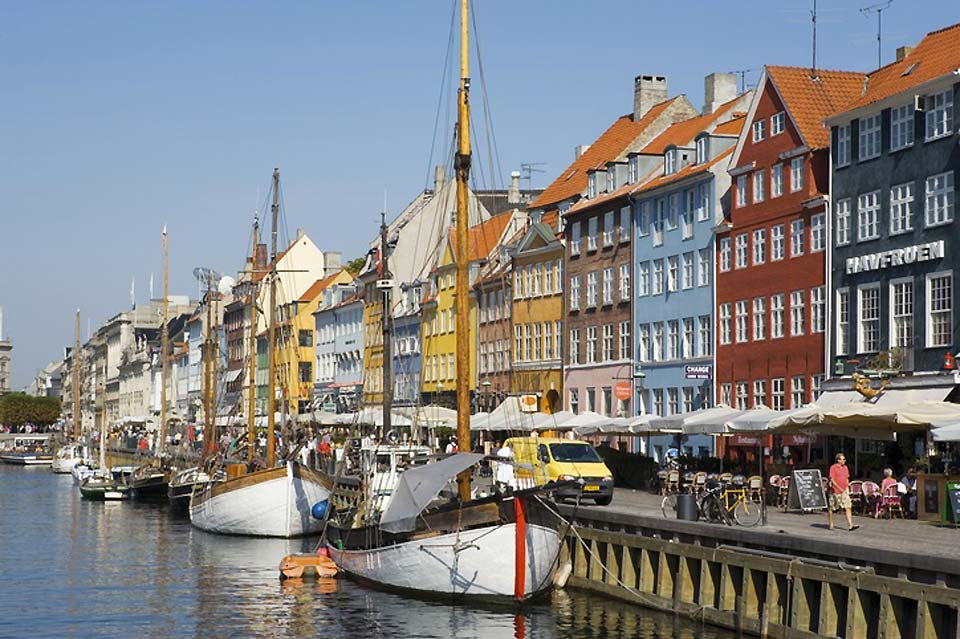 Visitors have been coming to the Nyhanv district in Copenhagen for more than 200 years.