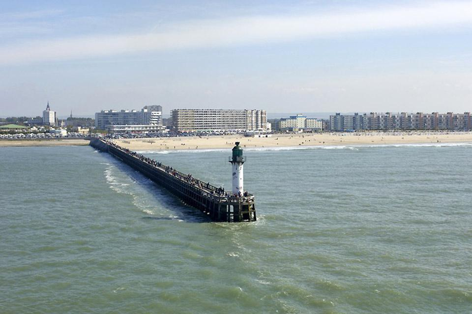 The city of Calais is located on the Opal Coast just under 24 miles from the English coast